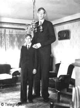 Robert standing next to his brother