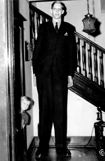 Robert Wadlow, Boy Giant